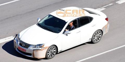 2013 Lexus IS mule spy photos