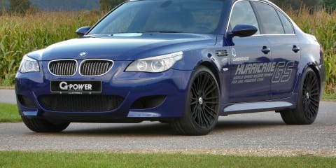 BMW M5 Hurricane GS by G-Power world's fastest LPG car