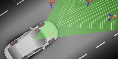Pedestrian-detection & automated platooning