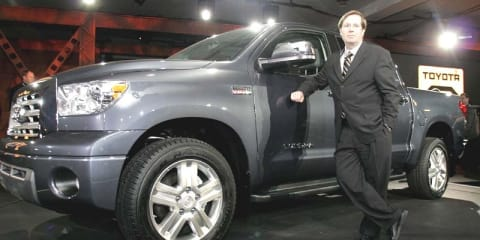 Toyota US president worried about supplier chain