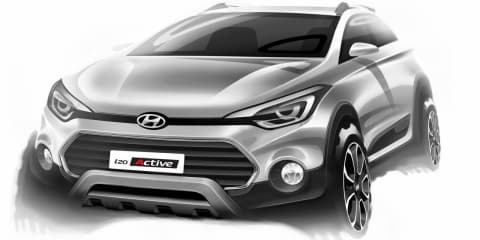 Hyundai i20 Active baby SUV teased ahead of March reveal
