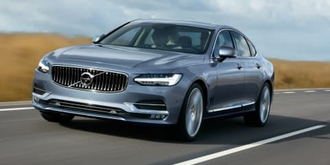 Volvo S90 sedan revealed ahead of Australian debut - UPDATE