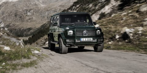 2018 Mercedes-Benz G-Class revealed