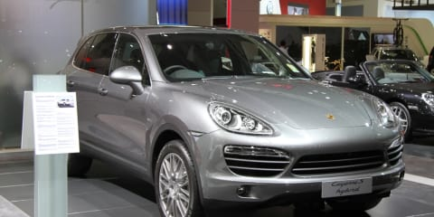 Porsche Cayenne S Hybrid at 2010 AIMS