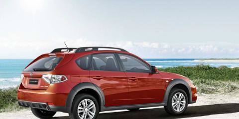 2011 Subaru Impreza XV Mizuno for Australia
