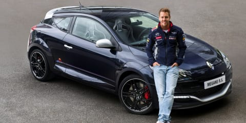 Renault Megane RS Red Bull Racing RB8 limited edition revealed
