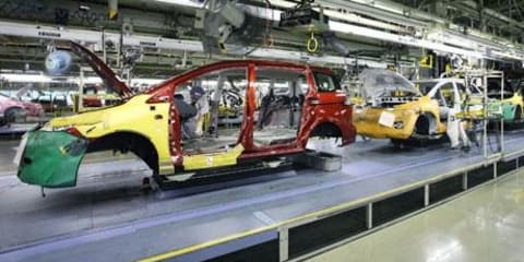 Japan's car industry at 32 year low