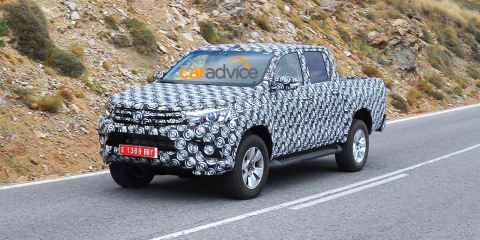 2015 Toyota HiLux : first images of new-generation ute testing in Europe