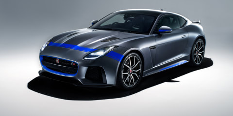 Jaguar F-Type SVR gets racy Graphic Pack option