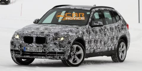 2013 BMW X1 facelift spied