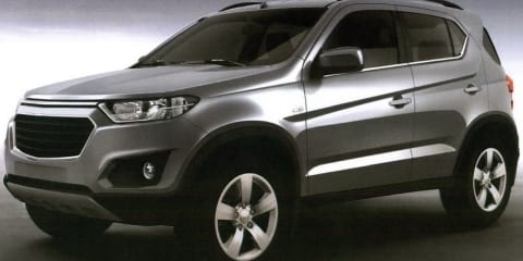 2016 Chevrolet Niva revealed in leaked patent images