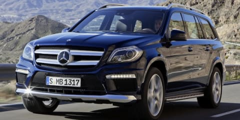 2012 Mercedes-Benz GL-Class breaks cover