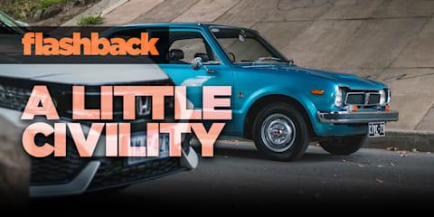 Flashback: Driving the 1973 Honda Civic