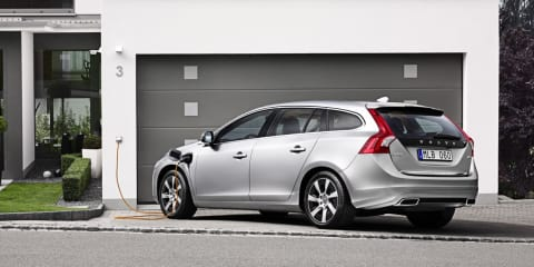 Volvo V60 Plug-in Hybrid sold out for 2013