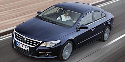 Volkswagen Passat CC now with five seats, but not in Australia