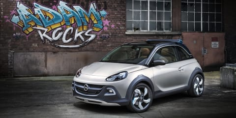 Opel Adam Rocks: city car crossover concept revealed