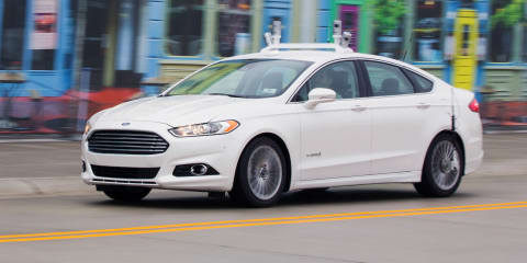 Ford the first to test self-driving tech at Michigan Uni's Mcity facility - video