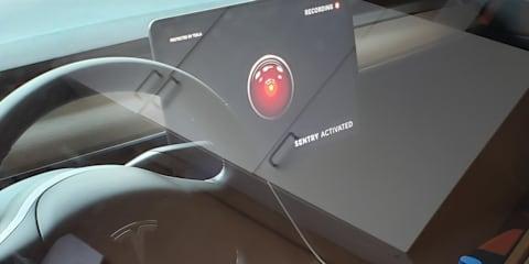 Tesla adds Dog Mode, Sentry Mode