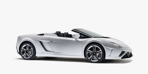 2013 Lamborghini Gallardo Spyder revealed