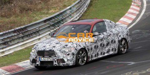 BMW M235i: turbo six coupe snapped at Nurburgring