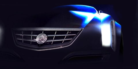 Cadillac 'glamour' coupe concept sketches revealed