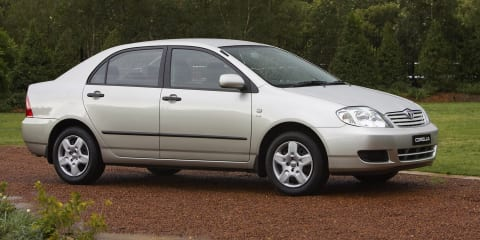 2003-2005 Toyota Corolla recalled for airbag fix