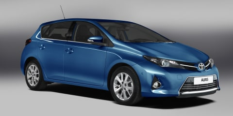 2013 Toyota Corolla: first official pictures