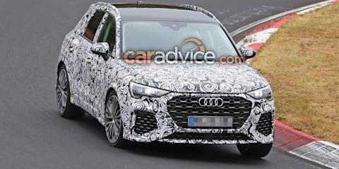 2019 Audi RS Q3 spied