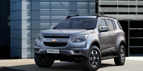 2012 Holden Colorado 7: first look at new ute-based SUV
