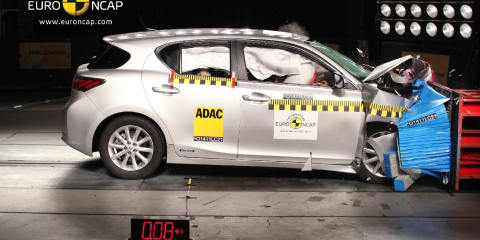 Euro NCAP awards five stars to Lexus CT 200h, Volvo V60, Ford Focus