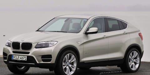 BMW X4 'looks good' for Australia