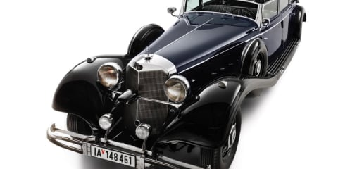 Hitler's Mercedes 770K Grosser up for auction