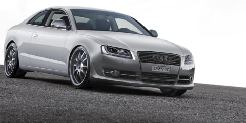 Sportec Audi S5 APS tuned to 317kW