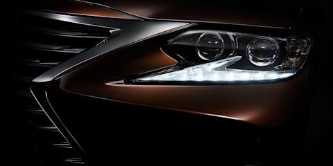 2016 Lexus ES to debut at Shanghai motor show
