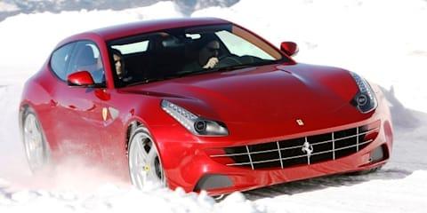 Ferrari FF customers offered winter driving program in US