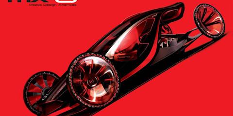 Mazda MX-0 concept debuts in LA Design Challenge