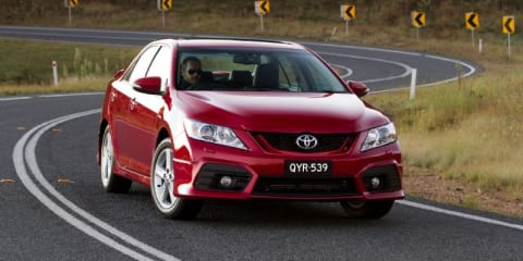 2012 Toyota Aurion prices and specifications