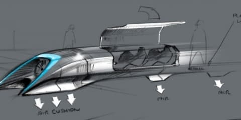 Tesla CEO Elon Musk imagines Hyperloop tube transport system