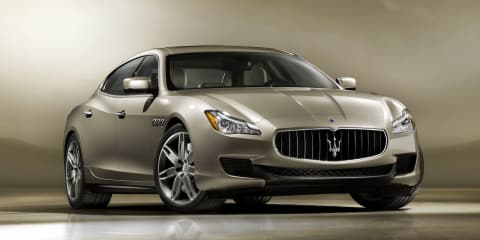 2013 Maserati Quattroporte first official images and details