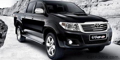 2012 Toyota HiLux facelift image leaked