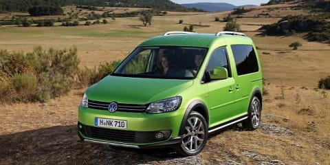 Volkswagen Cross Caddy: compact MPV goes off-road