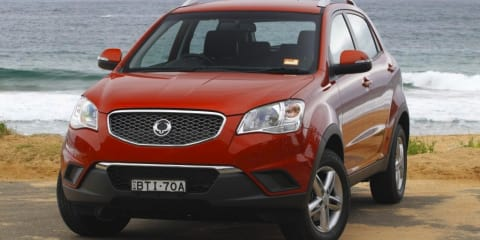 2011 SSANGYONG KORANDO SX Review