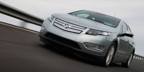 2012 Holden Volt now testing in Australia