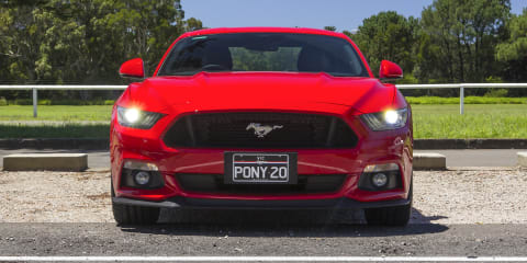 Ford Mustang production halted as US slows