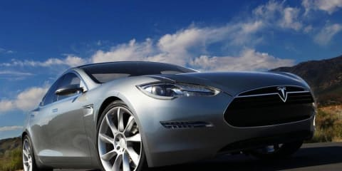 2012 Tesla S pictures revealed