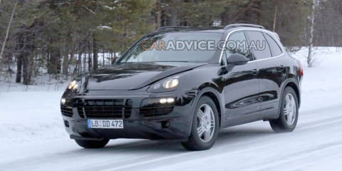 2010 Porsche Cayenne SUV spied