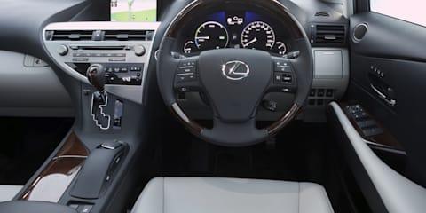 2009 Lexus RX450h launched