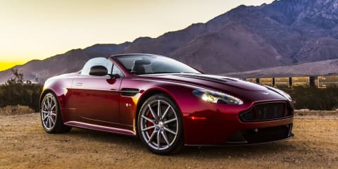 Aston Martin V12 Vantage S Roadster : Review
