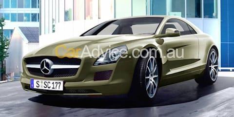 2010 Mercedes-Benz SLK spy pics