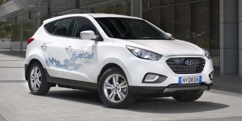 Hyundai ix35 Fuel Cell vehicle arrives in Australia to pioneer hydrogen technology